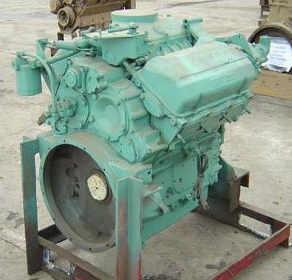 двигател Detroit 6V53 за друга строителна техника Detroit 6V53