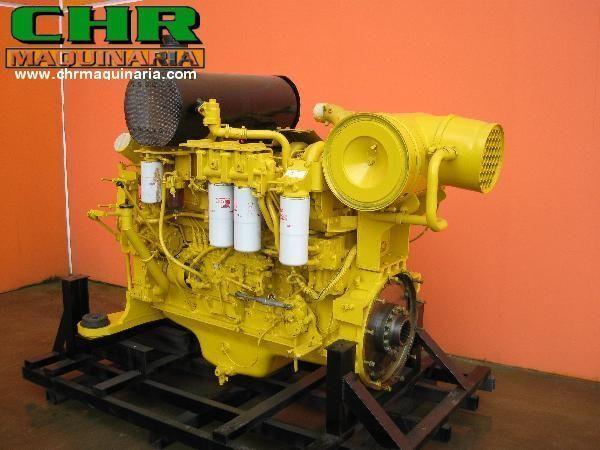 двигател KOMATSU PC750 SAA6D140-E2 saa6d140-E2 за багер