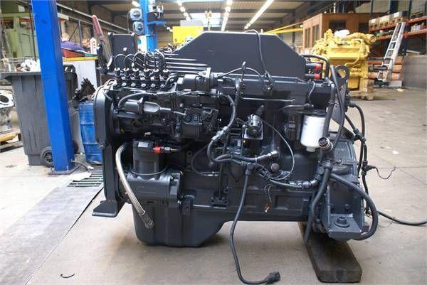 двигател KOMATSU S6D114 E1 за челен товарач KOMATSU S6D114 E1