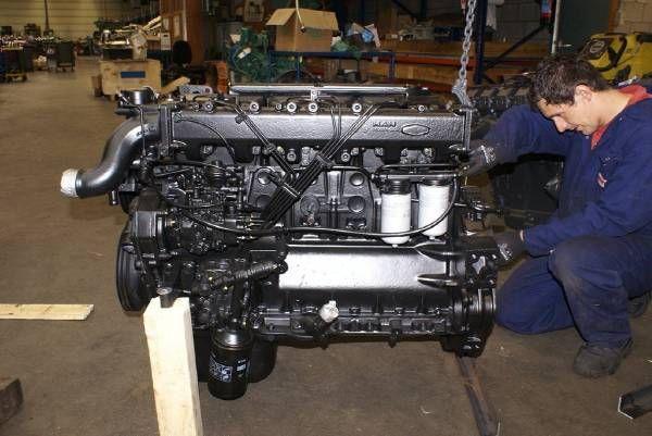 двигател MAN D0826 LF 03 за булдозер MAN D0826 LF 03