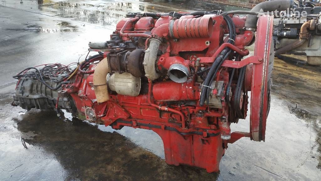 двигател за камион MAN D2865