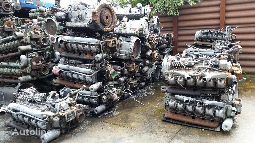 двигател MAN D2866 D2566 за камион MAN D2866 D2566