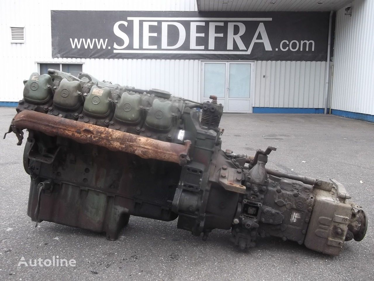 двигател за камион MERCEDES-BENZ OM 403 Engine V10 + ZF Gearbox,10 pieces in stock