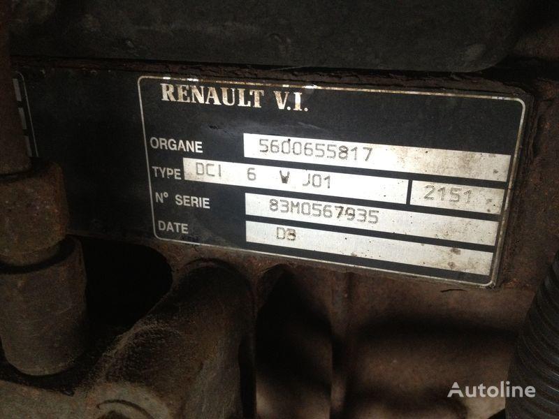 двигател RENAULT dci 6v j01 за камион RENAULT 220.250.270