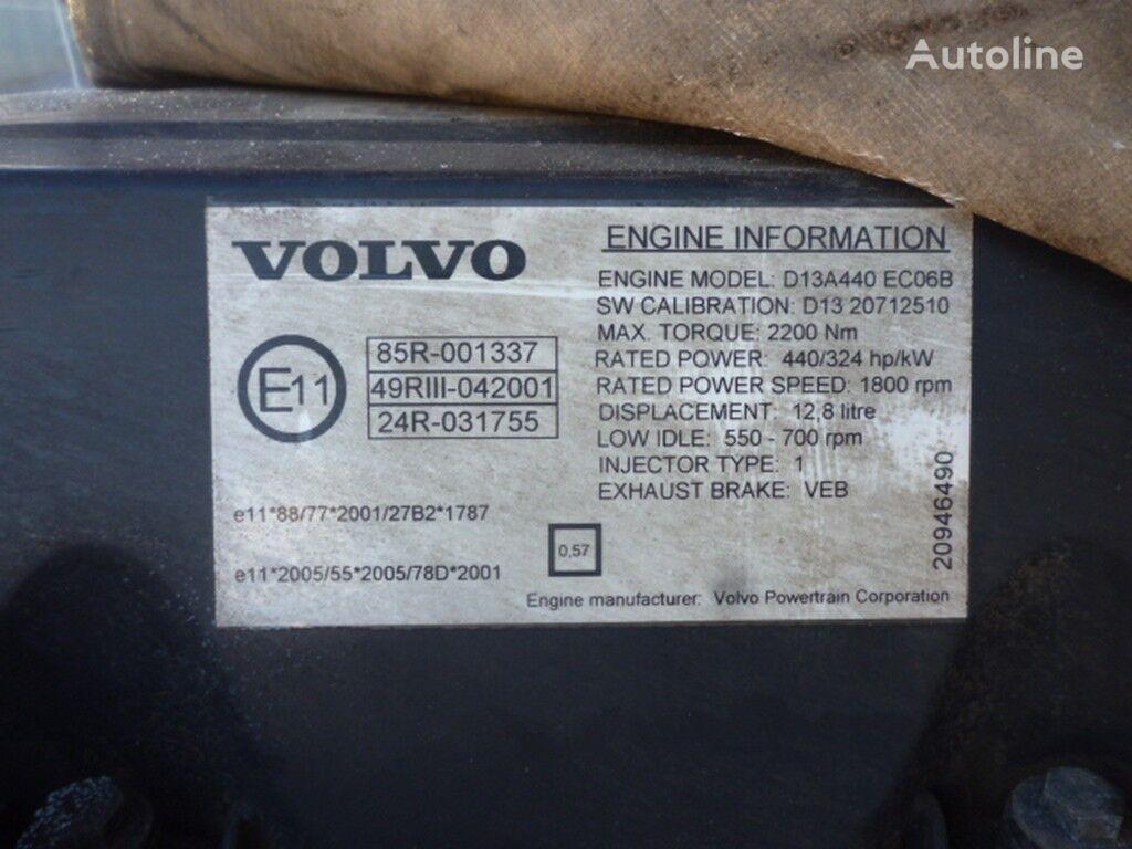 двигател VOLVO D13A440 ECO6B за камион VOLVO
