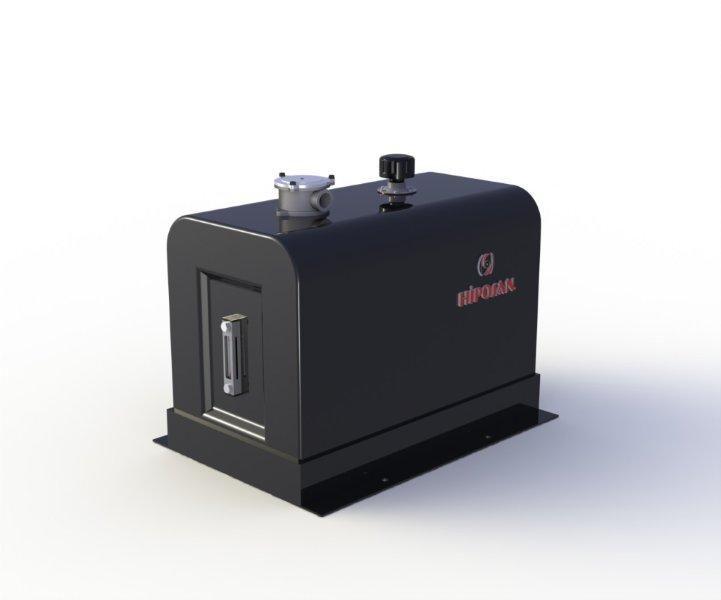 нов хидравличен резервоар  закабинный 180 л железный за влекач