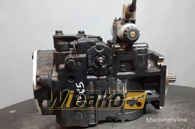 хидравлична помпа  Hydraulic pump Sauer 90R055 DC5BC60S4S1 DG8GLA424224 (90R055DC5BC60S4S1DG8GLA424224) за багер 90R055 DC5BC60S4S1 DG8GLA424224 (9422365)