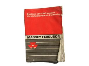 инструкция за експлоатация за трактор MASSEY FERGUSON 300
