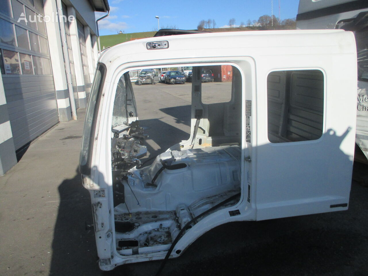 катастрофирала кабина MERCEDES-BENZ 6zylinder lang за камион MERCEDES-BENZ Atego