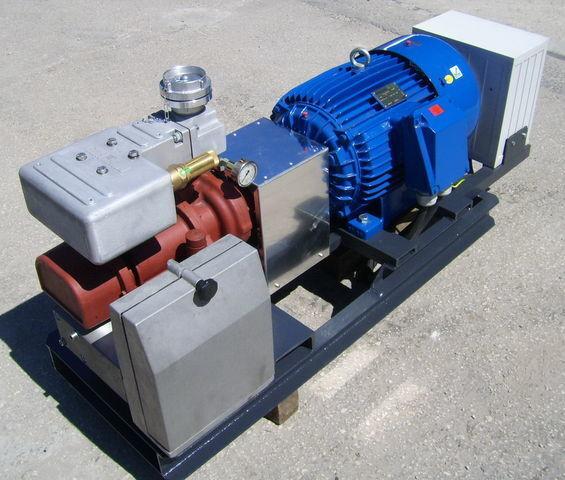 компресор за въздух за цистерна CG80 GHH RAND z silnikiem elektrycznym