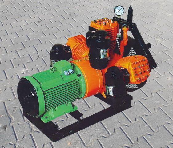 компресор за въздух за цистерна V3.16 tłokowy z silnikiem elektrycznym