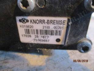 кран за въздух KNORR-BREMSE уровня пола (21083657) за влекач VOLVO