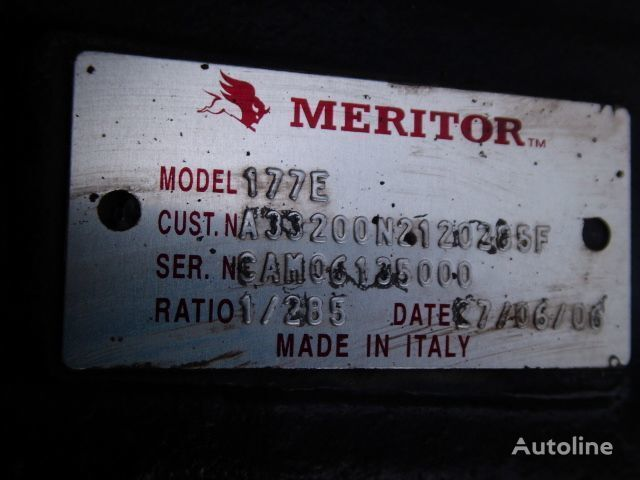 мост IVECO Meritor 177E,2.85 за влекач IVECO Cursor