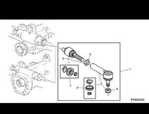 накрайник на кормилна щанга JOHN DEERE Przegub kulowy (AL209419) за трактор JOHN DEERE 7530 Premium