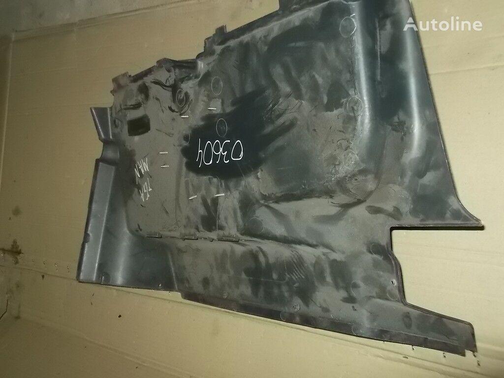 резервни части  MAN Обшивка передней стенки за камион