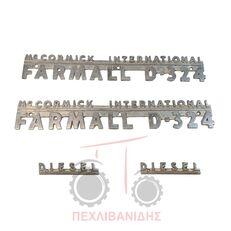 резервни части ΣΗΜΑ ΚΑΠΟ за трактор INTERNATIONAL MCCORMICK FARMALL D-324