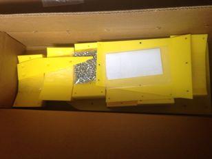резервни части Пластик днище жаток за хедер за зърно JOHN DEERE FLEX