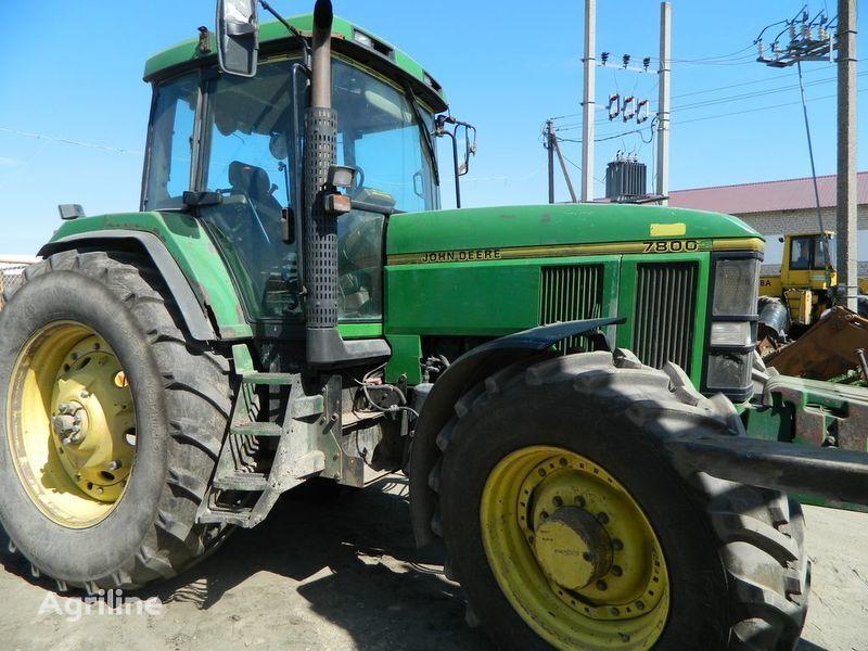 резервни части б/у запчасти / used spare parts JOHN DEERE за трактор JOHN DEERE 7800