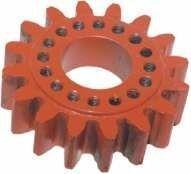 резервни части :шестерня привода вязального аппарата прямая малая (11630512 ) WELGER за сламопреса WELGER AP 61