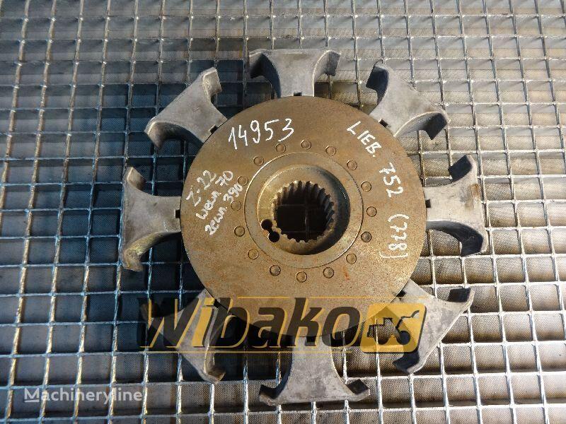 съединител диск Coupling Liebherr 752 за друга строителна техника 752 (22/70/390)