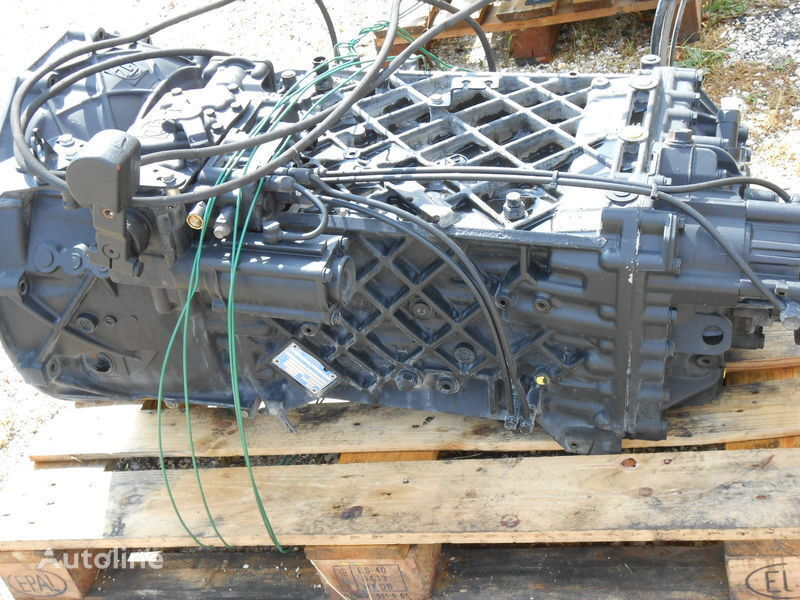 скоростна кутия  ZF 16S2220 TD-TO Part List No. 1343 001 016 Customer Spec. NR. 81.32004-6016 übers. 16,41-1,00 за камион MAN TGX-TGA