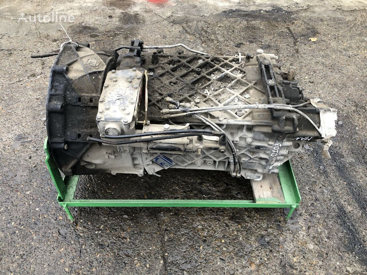 скоростна кутия ZF 16S2220TD за камион MAN TGA