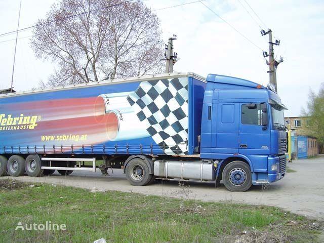 нова слънцезащитна козирка DAF за камион DAF XF95