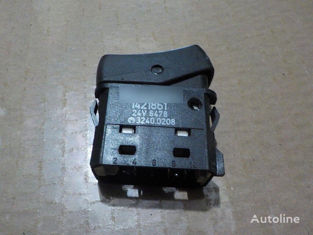 табло с уреди  Выключатель освещения Scania за камион