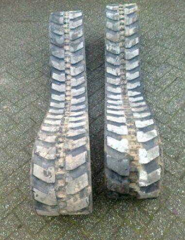 вериги Б/У резиновые brigstone за мини багер