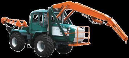 колесен трактор ХТА-200-БКМ