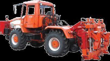 колесен трактор Универсальная путевая машина УПМ-1М на базе трактора ХТА-200