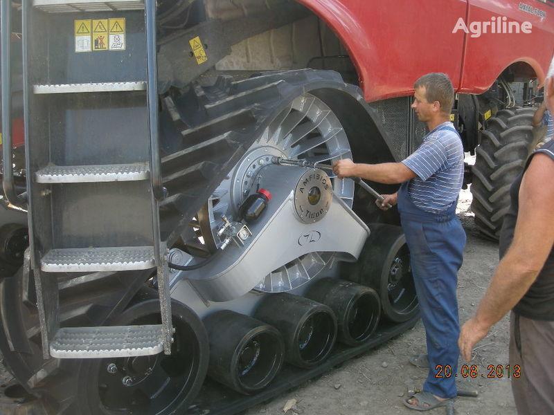 нов комбайн CLAAS резиновые гусеницы для комбайнов и тракторов.