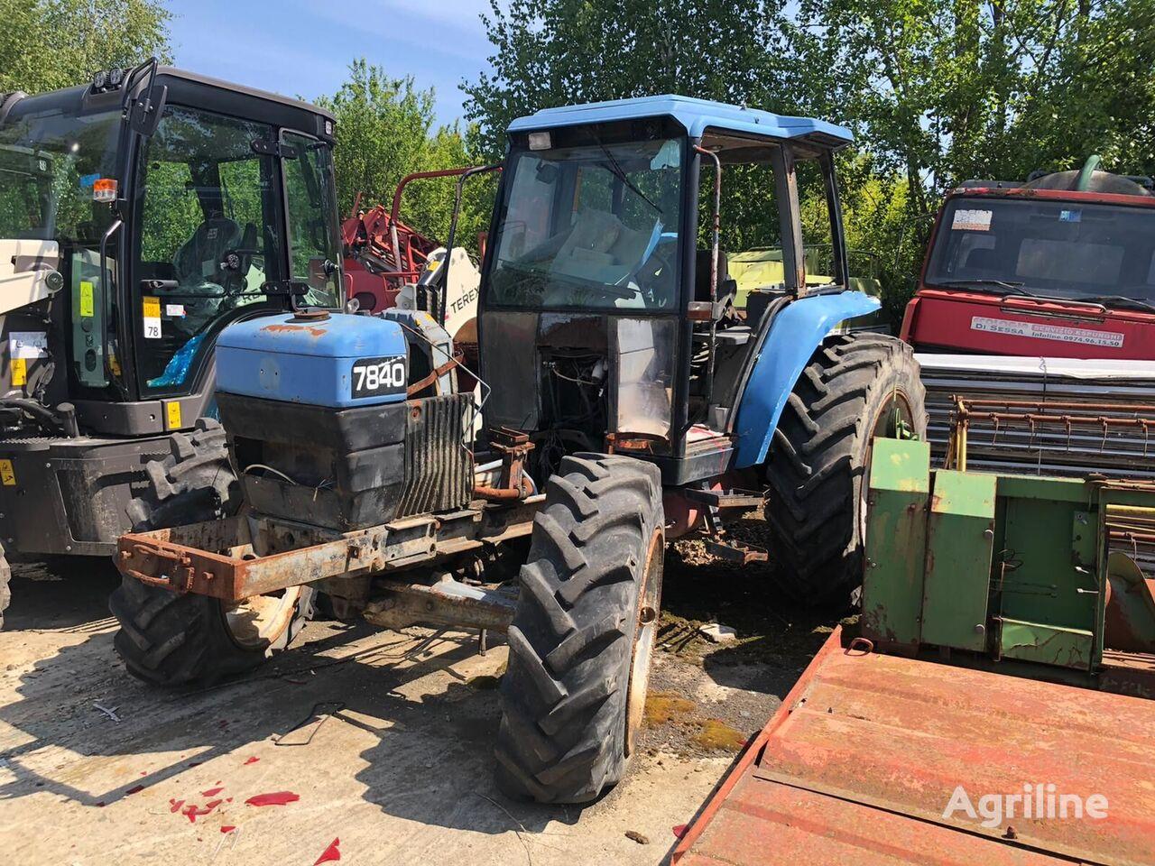 лозарски трактор FORD 7840 FOR PARTS на резервни части