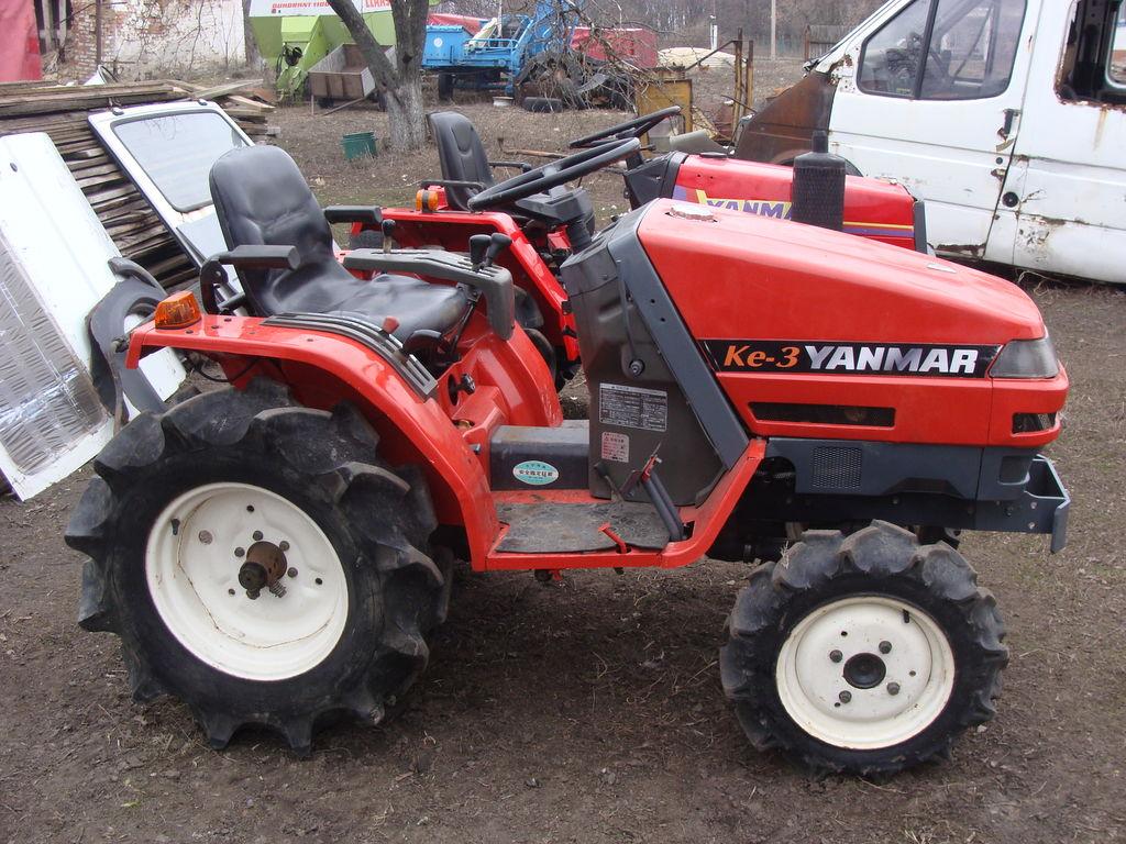 мини трактор YANMAR Ke-3