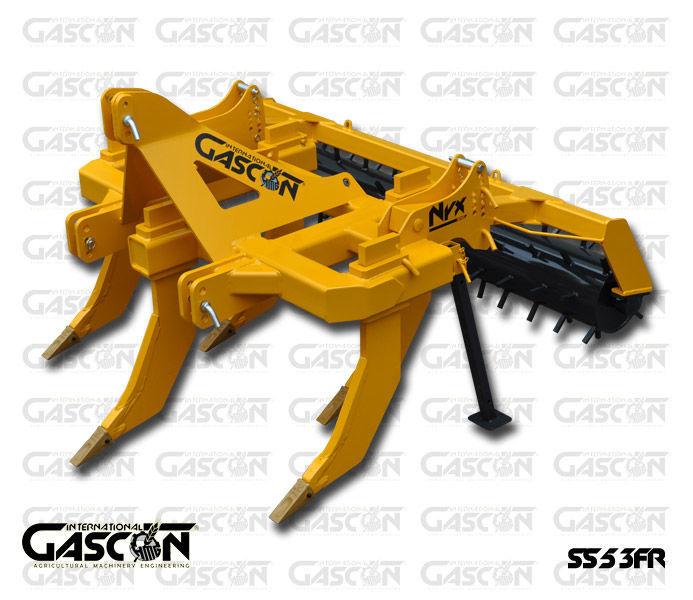 нов продълбочител GASCON  Глубокорыхлитель Gascon SS-5-3FR (150-210 л.с.)