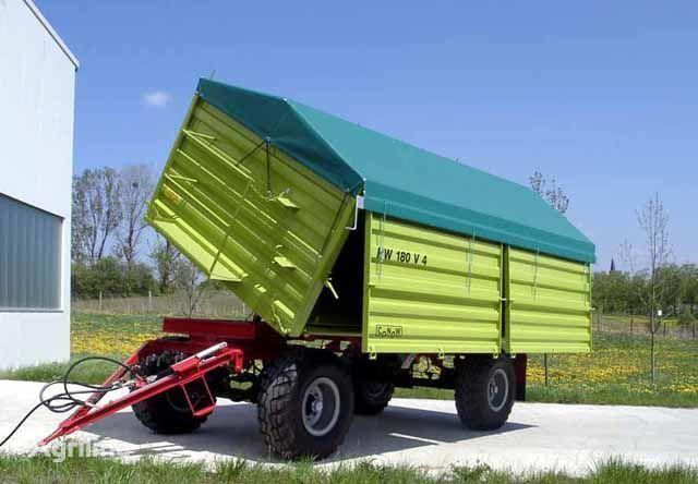 нов ремарке за трактор CONOW HW 180 Zweiseiten-Kipper V 4