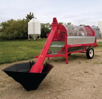 нов зърнопочистваща машина РОСТСЕЛЬМАШ Зерноочиститель барабанный ОЗБ