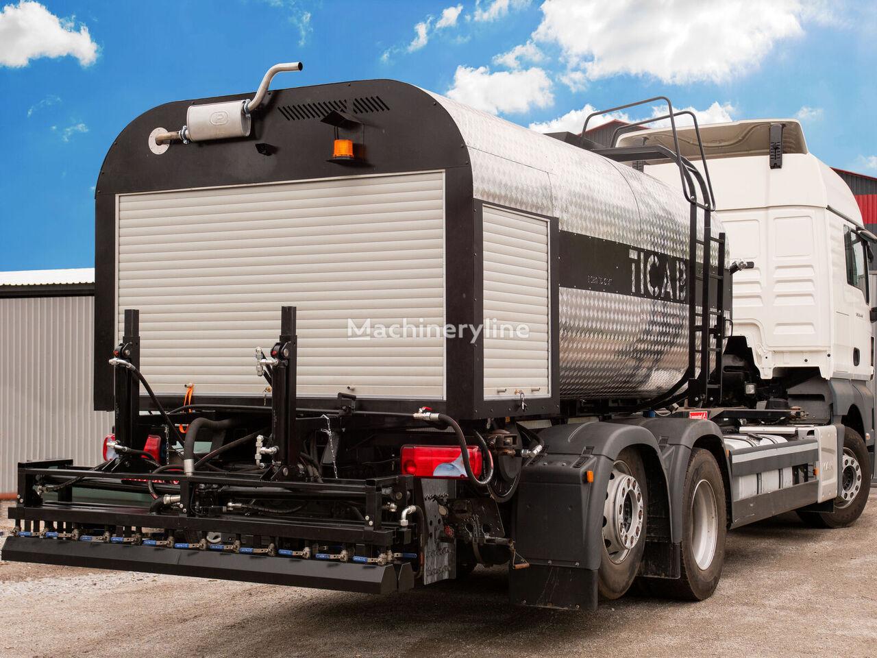 нов автогудронатор TICAB Bitumen distributor ABS-7000