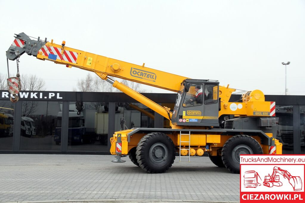 автокран LOCATELLI Grill 8300t 4x4x4 mobile crane