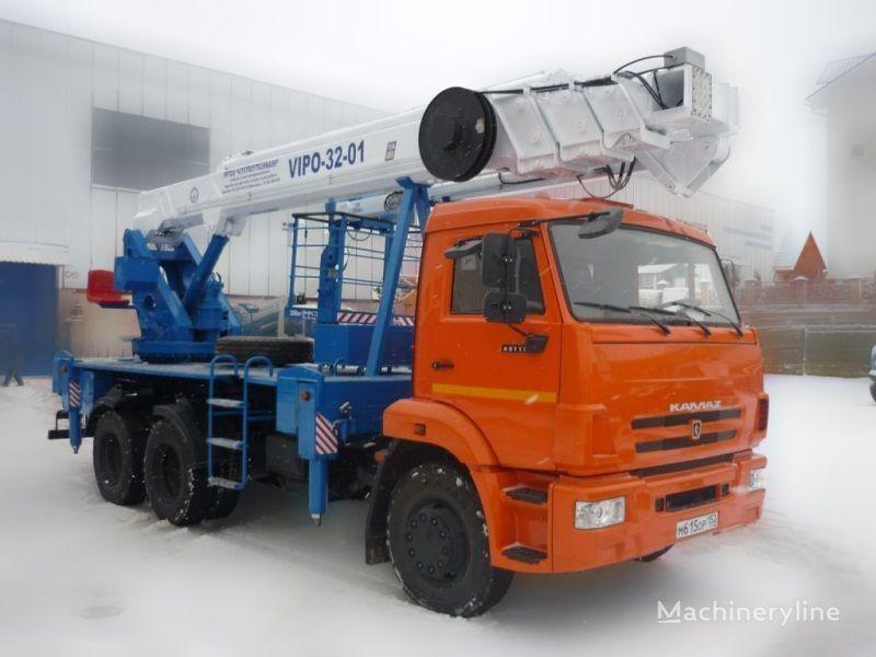 автовишка КАМАЗ ВИПО-32