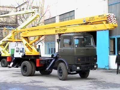 автовишка КАМАЗ ВС—22-01