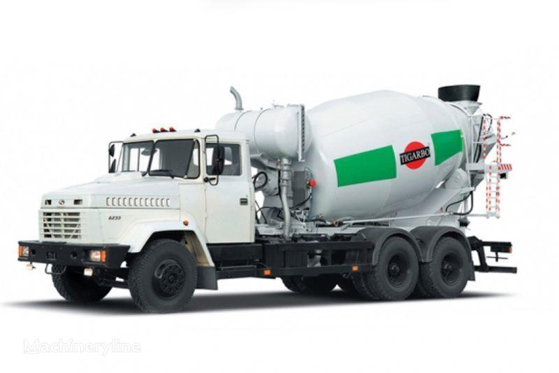 бетон миксер КРАЗ 6233P4-ТИП1