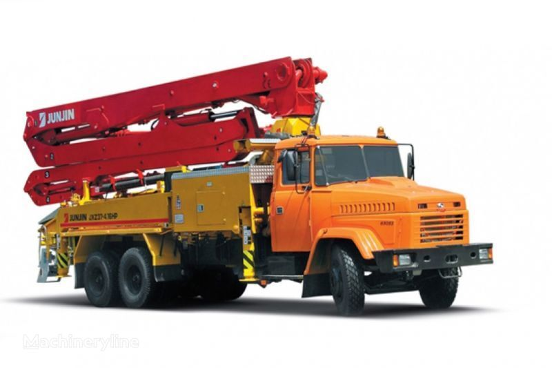бетон-помпа КРАЗ 65053 JXZ 37-4.16НР