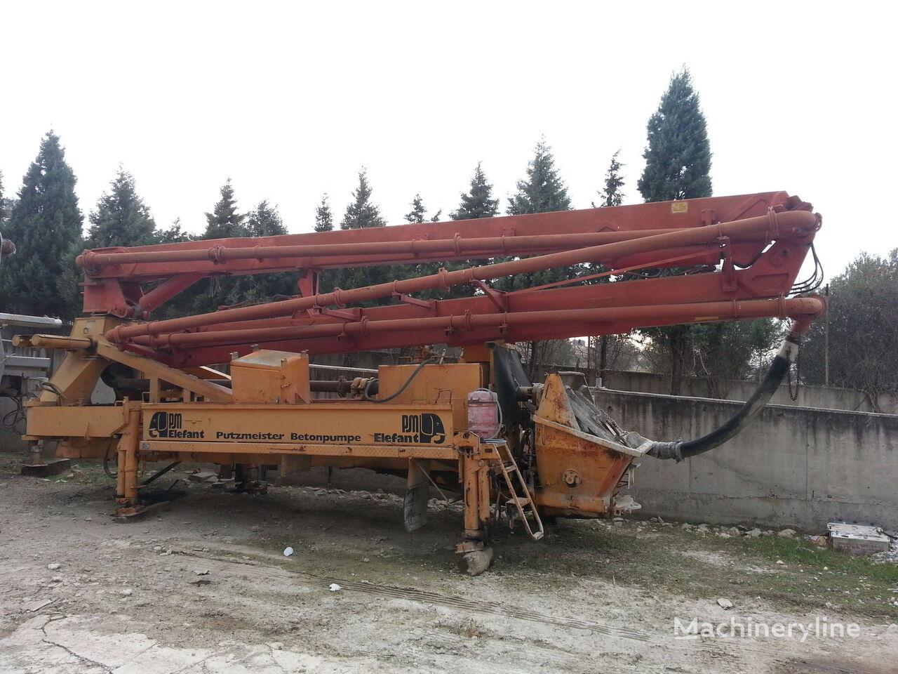 бетон-помпа PUTZMEISTER 28m.