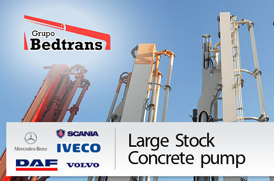 бетон-помпа PUTZMEISTER THE BEST STOCK THE CONCRETE PUMPS IN SPAIN BEDTRANS