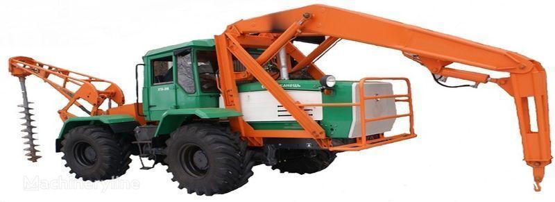 друга строителна техника БКМ 2М Бурильно-крановая машина БКМ-2М с механическим приводом враще