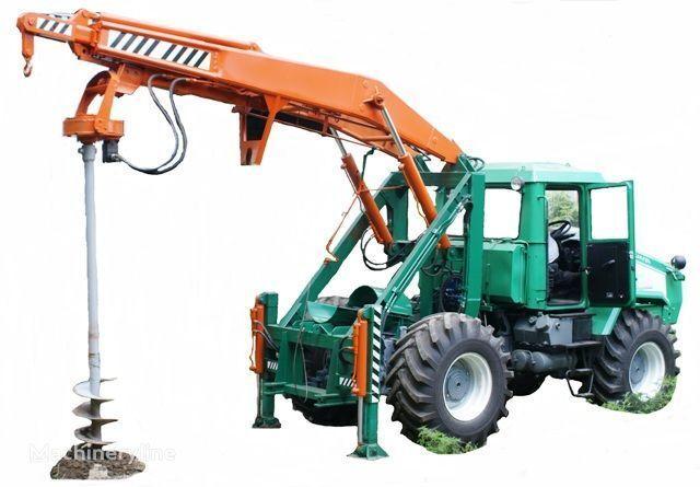 друга строителна техника ХТЗ Бурильно-крановая машина БКМ-3У на базе тракторов ХТЗ 150К-09, Х