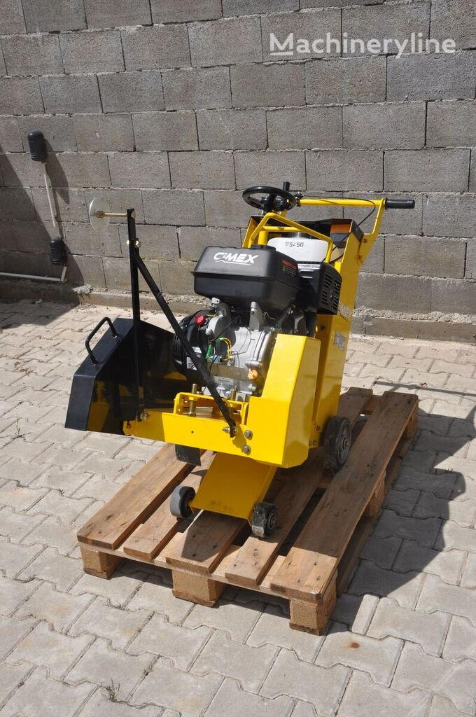 нов фугорез CIMEX Concrete Saw / Asphalt Cutter 450mm 13.0 hp Engine CIMEX FS450