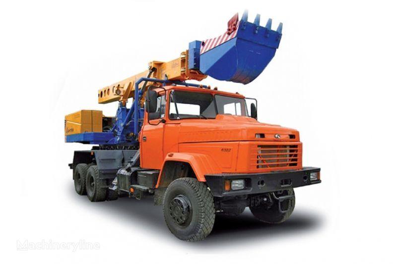 камион с планировъчна кофа КРАЗ 6322 EW-25-M1 Экскаватор-планировщик