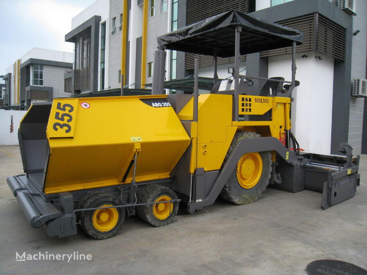 колесен асфалтополагач ABG Titan 355